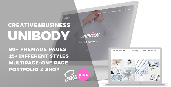 Download Unibody - Multipurpose One/Multi Page HTML5 Template Fast Load Html Templates