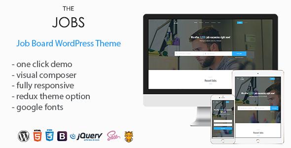 Download TheJobs - Job Board WordPress Theme Job WordPress Themes