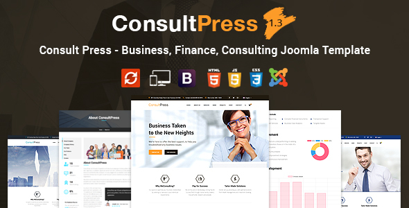 Download Consult Press - Finance & Consulting Business Joomla Template Amp Joomla Templates