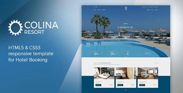 Download Colina - Hotel HTML Template Hotel Html Templates