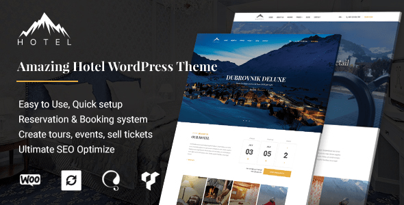 Download Hotel WordPress Theme   Hotel WP Hotel WordPress Themes