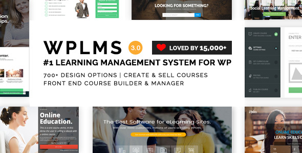Download WPLMS Learning Management System for WordPress, Education Theme University WordPress Themes