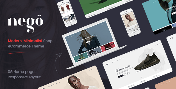 Download Nego - Fashion and Furniture Theme for WooCommerce WordPress Furniture WordPress Themes