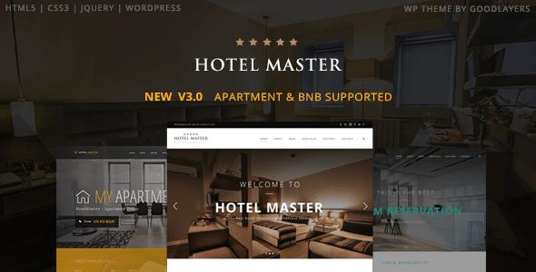 Download Hotel WordPress Theme   Hotel Master Hotel WordPress Themes