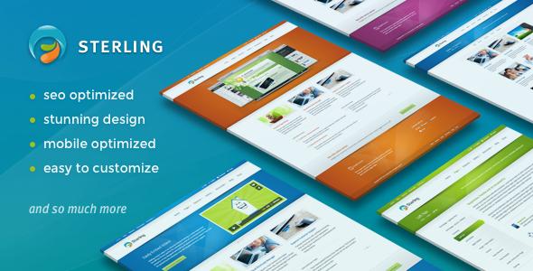 Download Sterling - Responsive Wordpress Theme Responsive WordPress Themes