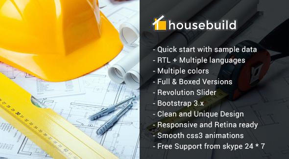 Download Housebuild - Joomla Construction Business Theme Amp Joomla Templates