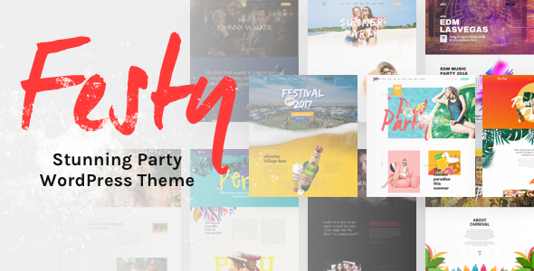 Download Festy Event WordPress Theme Event WordPress Themes