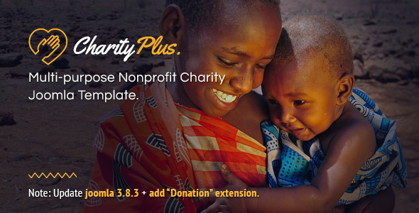 Download CharityPlus - Multipurpose Nonprofit Charity Joomla Template Church Joomla Templates