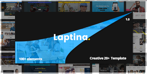 Download Laptina - Multi-Purpose Business & Financial Professional, Consulting HTML Template Amp Html Templates