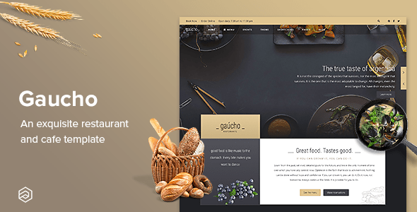 Download Gaucho Restaurant - Responsive & Cafe Bistro Restaurant Joomla Template Blog Joomla Templates