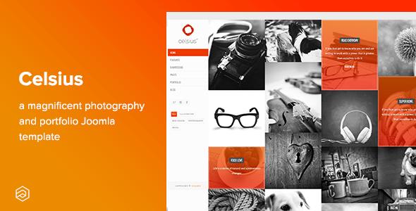 Download Celsius - Photography & Video Portfolio Responsive Joomla Template Video Joomla Templates