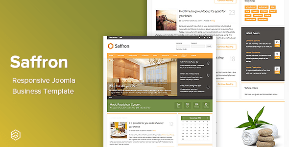 Download Saffron - Business Responsive Joomla Template Responsive Joomla Templates