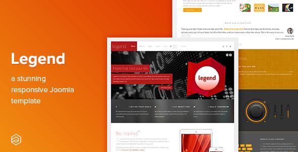 Download Legend - Business Responsive Joomla Template Fast Load Joomla Templates