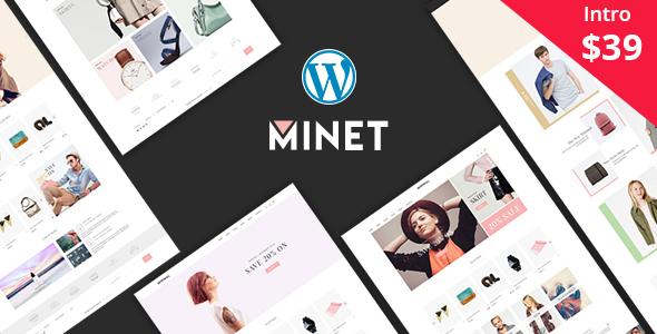 Download Minet - Minimalist eCommerce WordPress Theme Minimalist WordPress Themes