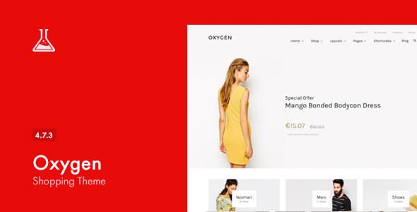 Download Oxygen - WooCommerce WordPress Theme Youtube WordPress Themes