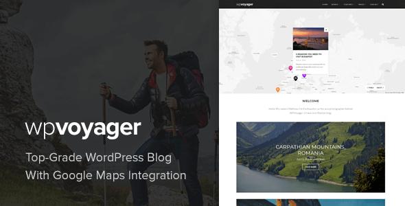 Download WPVoyager - Travel Blog WordPress Theme Travel WordPress Themes