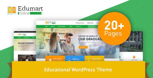 Download Edumart – Education WordPress Theme Education WordPress Themes