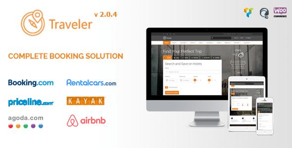 Download Traveler - Travel Booking WordPress Theme Travel WordPress Themes