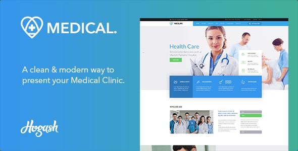 Download Medical   Medical HTML Template Hospital WordPress Themes