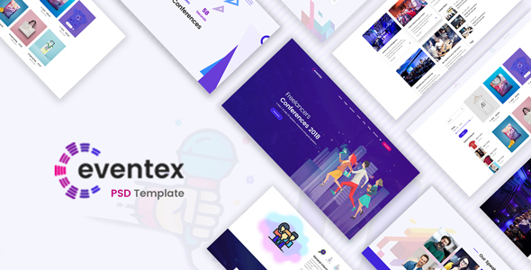 Download Eventex - Event, Meeting & Conference PSD Template Amp Joomla Templates