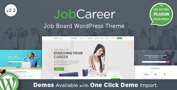 Download JobCareer | Job Board Responsive WordPress Theme Job WordPress Themes