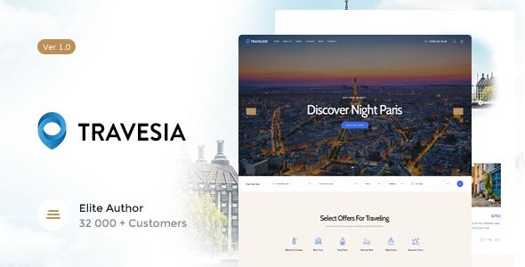 Download Travesia | Travel Agency WordPress Theme Travel WordPress Themes