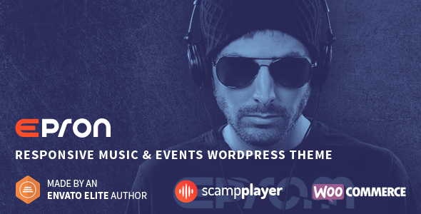 Download Epron - Responsive Music & Events WordPress Theme Event WordPress Themes