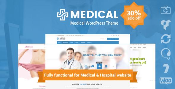Download Medical Clinic Hospital WordPress Theme   inMedical Hospital WordPress Themes