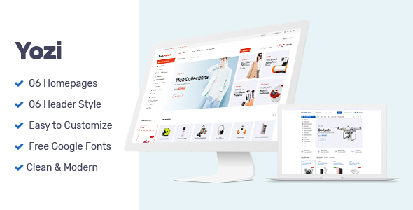 Download Yozi - Multipurpose Electronics WooCommerce WordPress Theme Woocommerce WordPress Themes