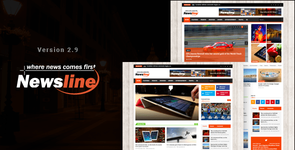 Download Newsline - Responsive Magazine Joomla Template Magazine Joomla Templates