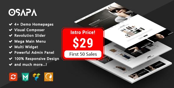 Download Osapa - Fashion Responsive WooCommerce WordPress Theme Woocommerce WordPress Themes