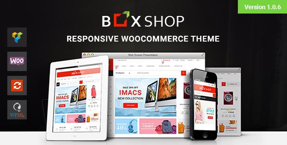 Download BoxShop - Responsive WooCommerce WordPress Theme Woocommerce WordPress Themes