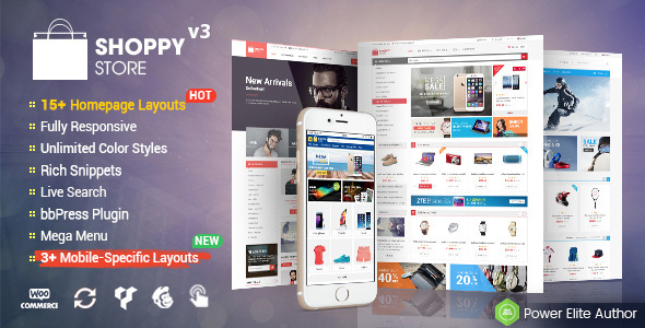 Download ShoppyStore - Multi-Purpose Responsive WooCommerce Theme (15+ Homepages & 3 Mobile Layouts Included) WordPress Themes 2017
