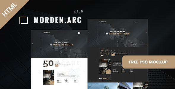 Download morden.arc - Architecture and Interior HTML Template Interior Html Templates