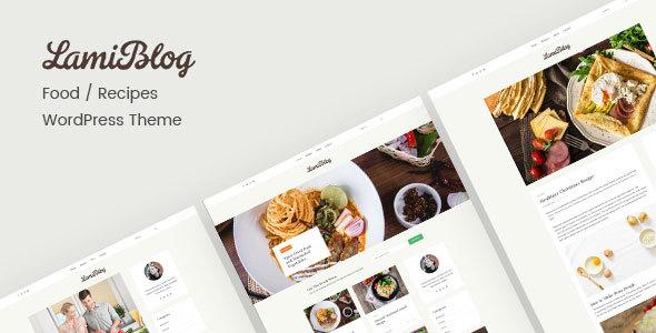 Download Lami | Recipe Blogging WordPress Theme Recipe WordPress Themes