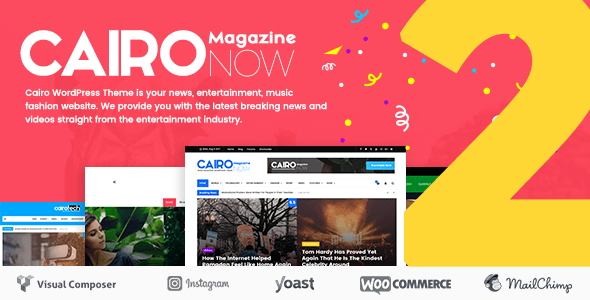 Download Cairo - Newspaper & Magazine WordPress Theme Newspaper WordPress Themes