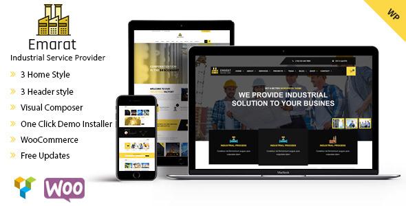 Download Emarat-Industry & Business WordPress Theme Amp WordPress Themes