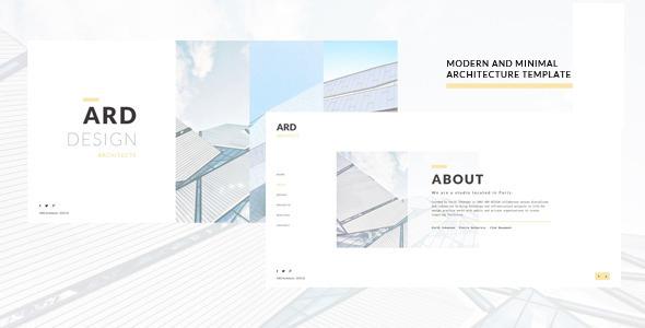 Download ARD - Architect | Builder Minimal Joomla Template Simple Joomla Templates