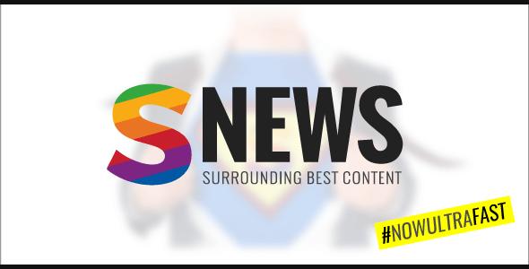 Download SNEWS    Eye-catching Magazine, Reviews & Newspaper WordPress Theme Newspaper WordPress Themes
