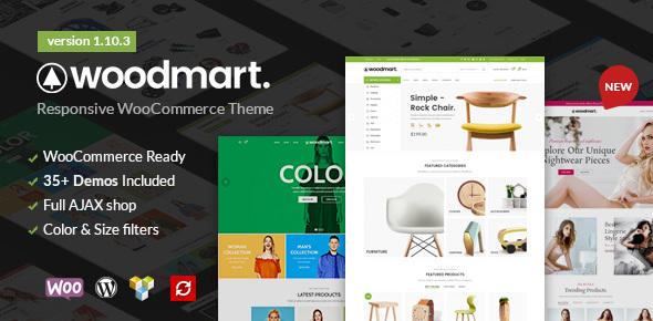 Download WoodMart - Responsive WooCommerce WordPress Theme Woocommerce WordPress Themes