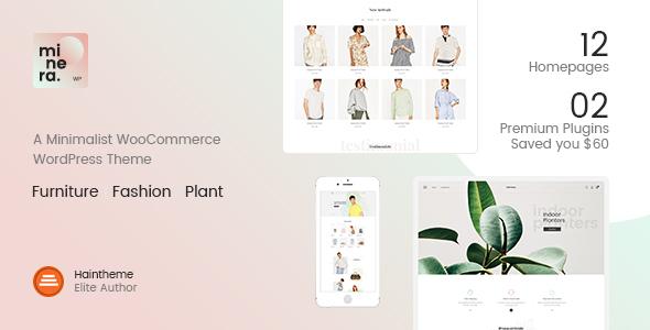 Download Minera - Minimalist WooCommerce WordPress Theme Minimalist WordPress Themes