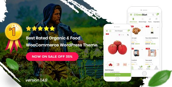 Download GreenMart – Organic & Food WooCommerce WordPress Theme Restaurant Wordrpess Themes
