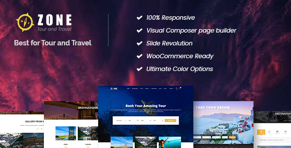 Download Zone - Tours and Travel WordPress Responsive Theme Travel Blogger Templates