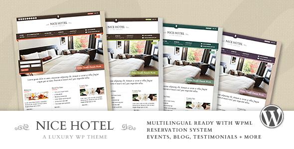Download Nice Hotel - WordPress Theme Hotel WordPress Themes