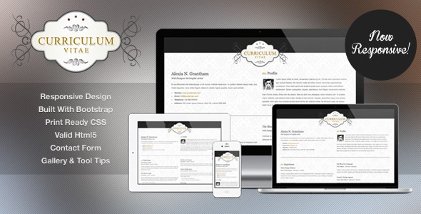 Download Retro Elegance - CV / Resume Html Template Retro Html Templates