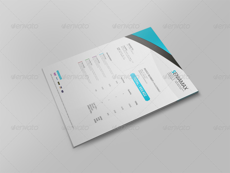 Professional Invoice Template Vol 3 by msadesign   GraphicRiver 01 Preview jpg