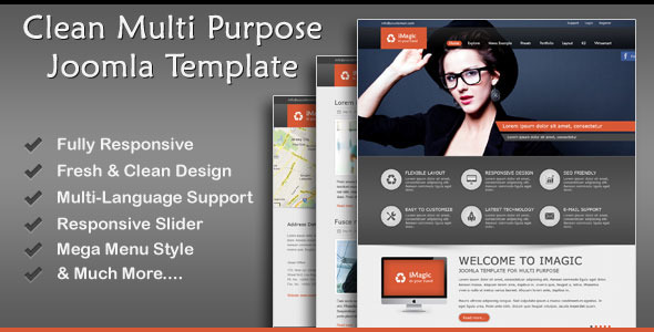 Download iMagic - Responsive Multi-Purpose Joomla Theme Hospital Joomla Templates