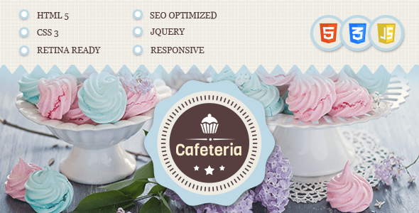Download Cafeteria Responsive HTML Template Retro Html Templates