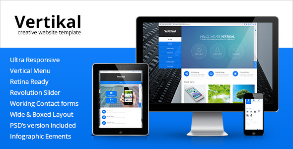 Download Vertikal - Multipurpose HTML5 Template Amp WordPress Themes