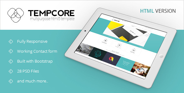 Download Tempcore - Business HTML5 Template Amp WordPress Themes
